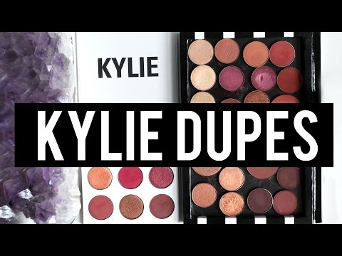 KYLIE BURGUNDY PALETTE: EXACT DUPES For EVERY Shade! | Jamie Paige