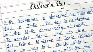 Essay writing children39s day rfid how to write