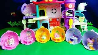 Coco-Tama house mini set❤️All 6 types of Capsule toy ☆Kids Anime Toy ASOBOOM!