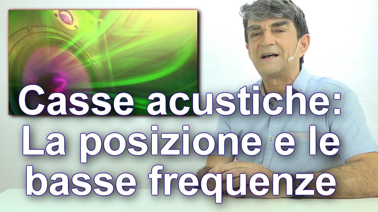 Come posizionare i Diffusori in ambiente: le Basse Frequenze.