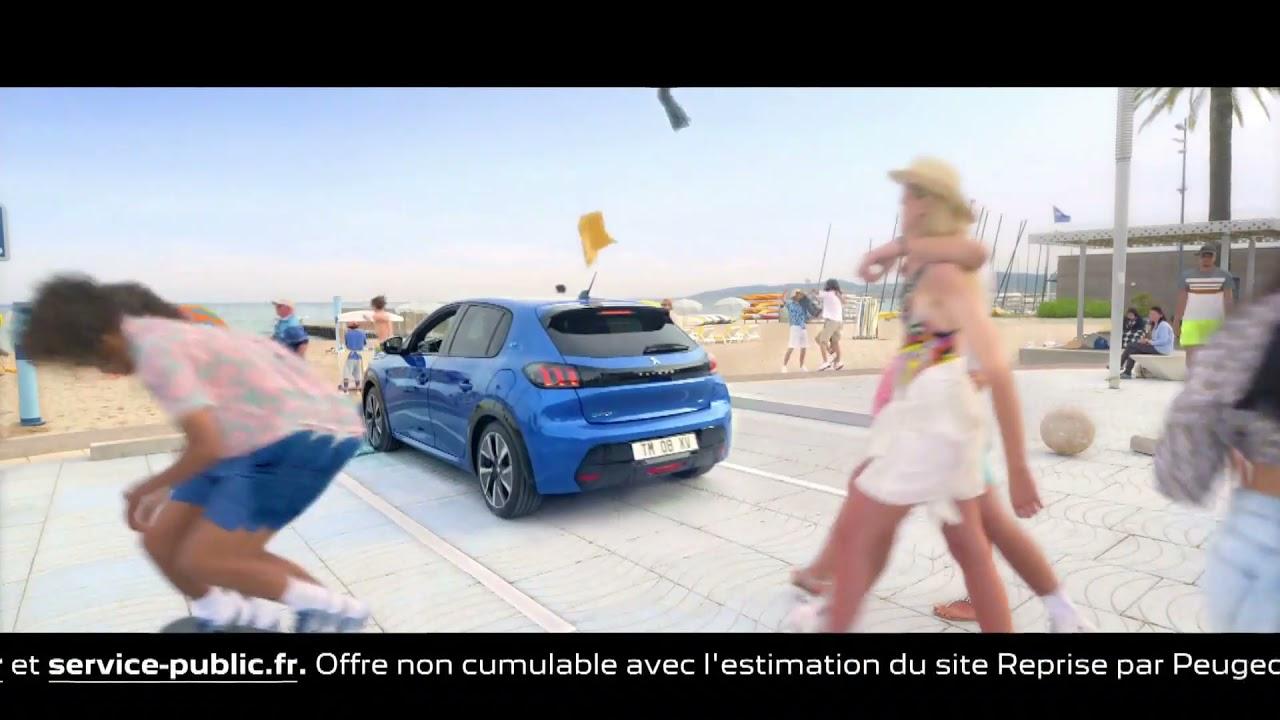 Musique de la pub   Peugeot e-208 2021