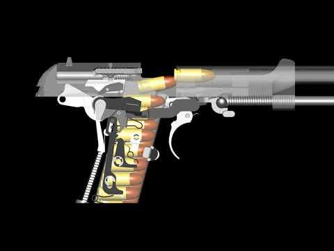 Beretta 93r burst mode work in progress
