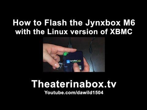 JynxBox M6 - How to install Linux XBMC Gotham on the JynxBox M6 Android