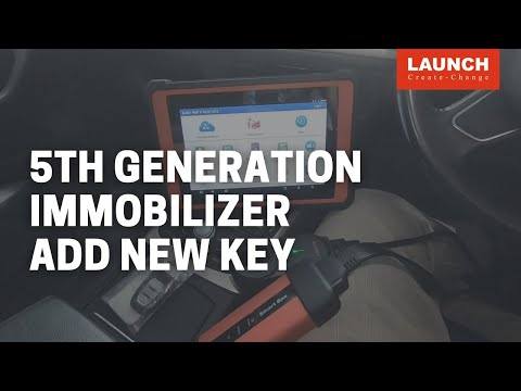 X-PROG   5th Generation Immobilizer Add New Key   LAUNCH