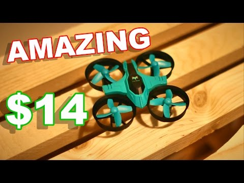 BEST New Indoor Quadcopter 2017 Under $15!! - FuriBee F36 - New Favorite Drone - TheRcSaylors