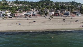 Seattle police to patrol Alki Beach as crowds stay past closing