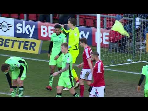Crewe Alexandra 1-0 Colchester United: Sky Bet League Two Highlights 2017/18 Season