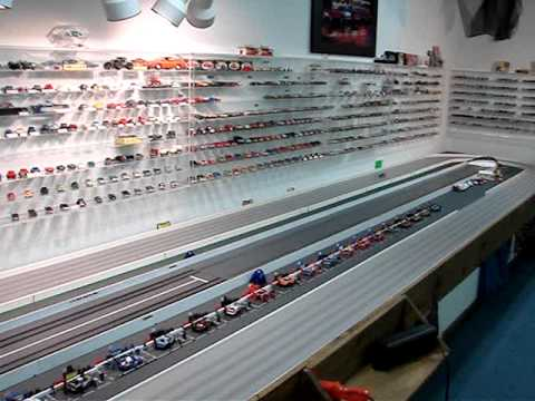 Clagett Sluggers Canady Slot Car Dale Jr On The 80ft Oval Mpg