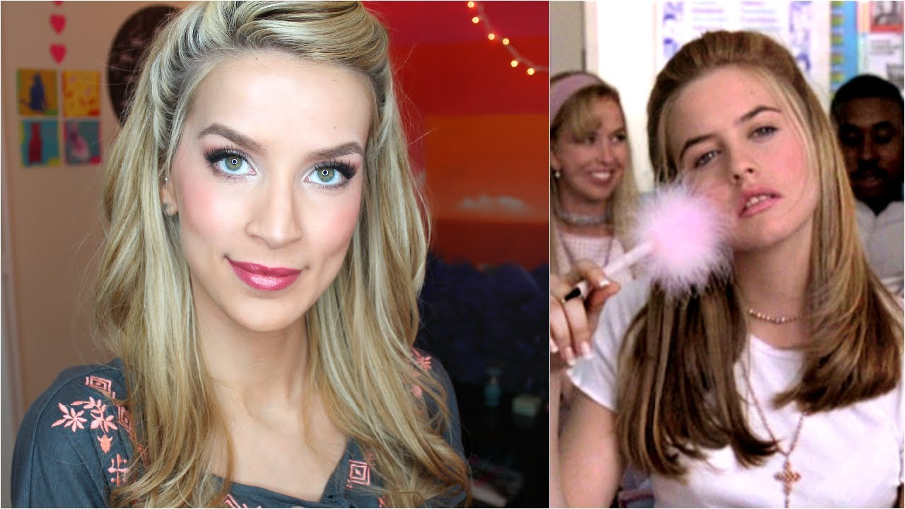Hairstyle 90s: HAIR TUTORIAL: Easy Half Up (Clueless Inspired!)