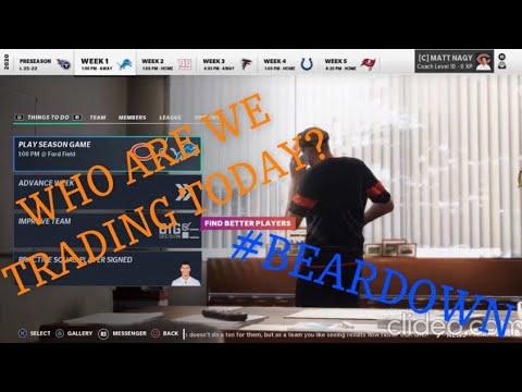 Download Madden 21 - Bears Franchise Rebuild Ep. 2 - WHO ELSE WE TRADING!?