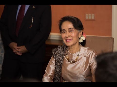 2016 Harvard Humanitarian of the Year Honorary Dinner for Aung San Suu Kyi