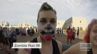 Zombie 5k run perry georgia  HLNtv com