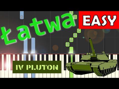 🎹 IV Pluton - Piano Tutorial (łatwa wersja) 🎹