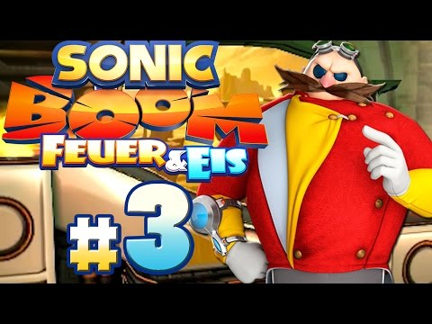 SONIC BOOM: FEUER & EIS # 03 ★ Eggman will ein Rennen! [HD60] Let