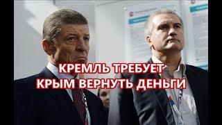Кремль требует Крым вернуть деньги