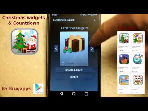 Christmas Countdown Widget.Christmas Widgets Countdown Apps On Google Play