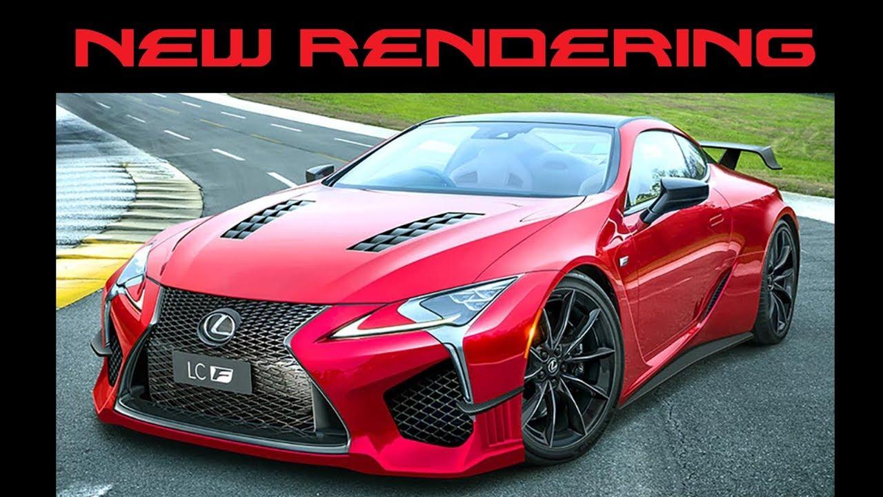 new lexus lc f rendering