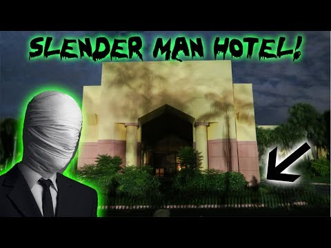 SLENDER MAN HOTEL! I FOUND THE SLENDER MAN HOTEL AND THIS IS