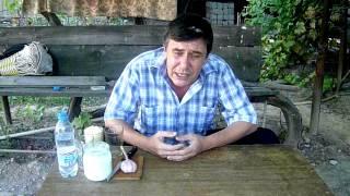 Рецепт Чингиз-хана. Глотание целого стакана чеснока.