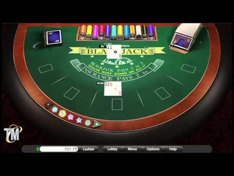 BlackJack - Online Casino Table Game (BetOnSoft)