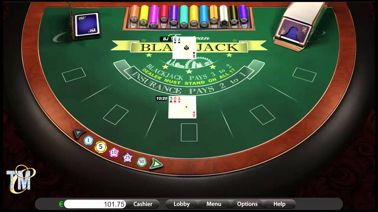 Blackjack online casino table game betonsoft youtube for 10 games in 1 table