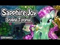 My Little Pony Sapphire Joy Hair Styling Tutorial (How To Style MLP Toy DIY)