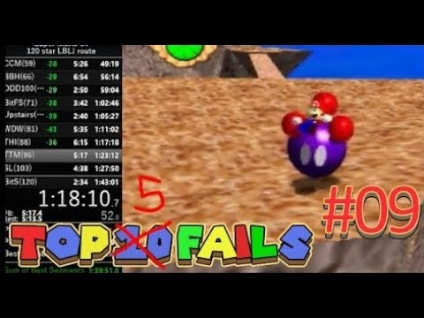 Fails In Speedrunning #9 | Super Mario 64 Edition
