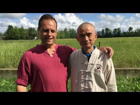 Wang Zhi Xiang e Gianfranco Pace - L'incontro - Tai Chi online - Meeting