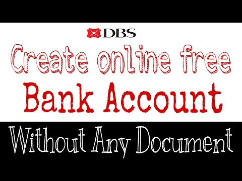 Open Bank Account Online Without Documents 2017 | Easy Method | DBS by Digibank