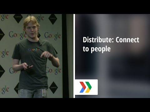 Distribute: Connect to people