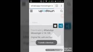 como instalar whatsapp para tablet do governo (ou normal)