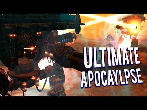 ONLY TITANS! IMPERATOR TITAN BATTLES - ULTIMATE APOCALYPSE MOD GAMEPLAY LETS PLAY