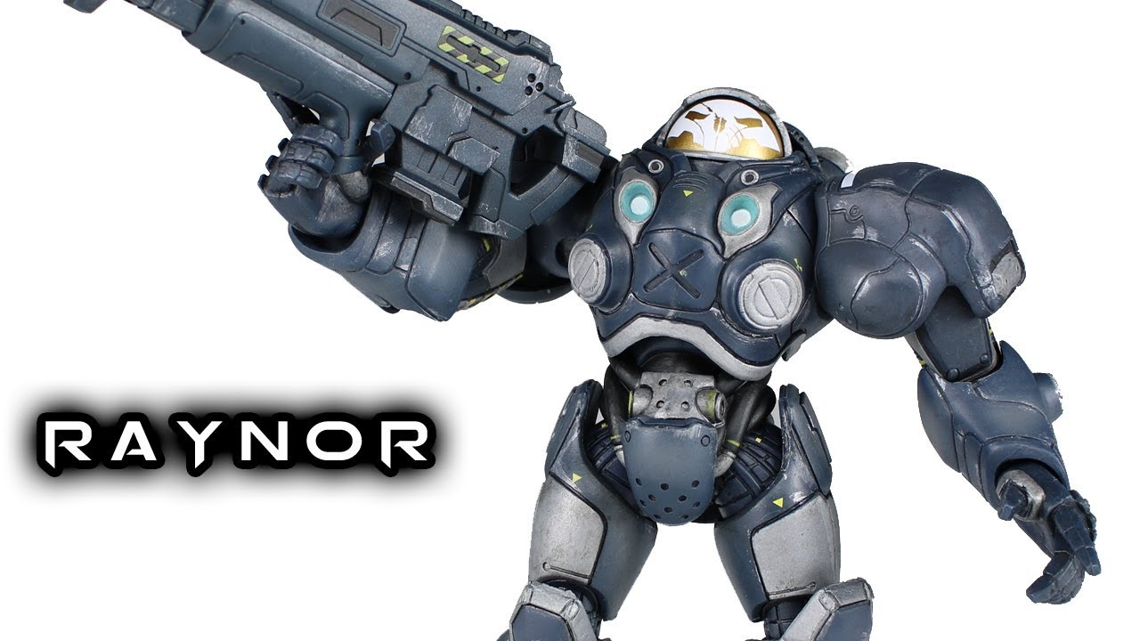 NECA RAYNOR Heroes Of The Storm Action Figure Toy Review