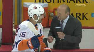 Cal Clutterbuck on Why Isles' 4th Line Has Been Successful | New York Islanders Game Night