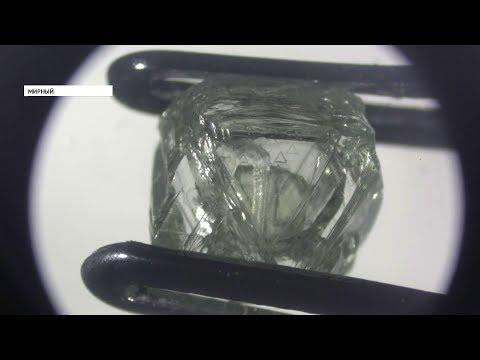 Алмаз внутри алмаза — уникальную находку обнаружили в Якутии