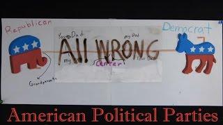 American Political Parties Explained! Democrat, Republican, Libertarian, Anarchist?