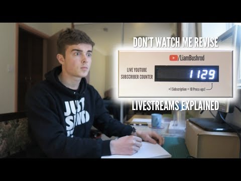 Don't Watch Me Revise: Livestreams Explained