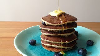 Easy Pancake (3 Ingredients Only! Egg+banana+oatmeal)