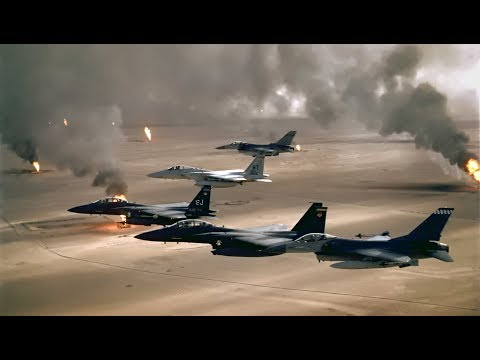 Persian Gulf War Begins - 1/16/1991