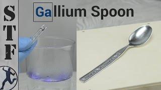 DIY Melting Gallium Spoon