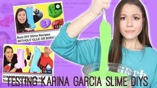I Tried Following A Karina Garcia Slime DIY!🦄Did It Work?