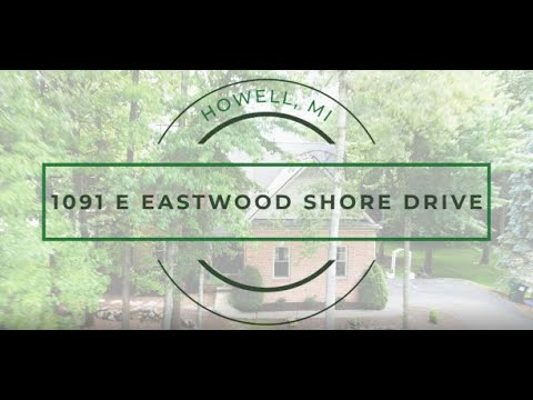 New Listing: 1091 E Eastwood Shore Drive