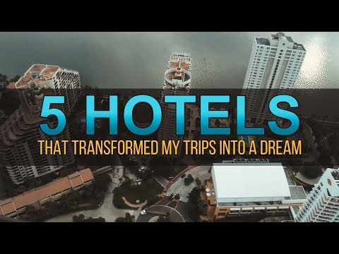 5 Hotels that transformed my trips into a dream