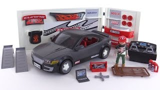 Playmobil Car Repair Shop + Sports Car w/ sound review! set 4366