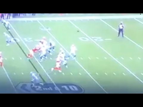 Cowboys Cooper Rush Catches Batted Pass, Throws Completion vs 49ers 2018 NFL Preseason