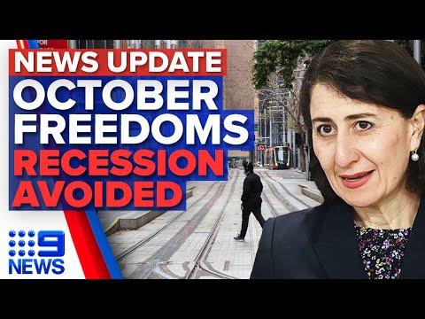 NSW vaccination rates climb, Treasurer praises 'resilient' Australian economy | 9 News Australia