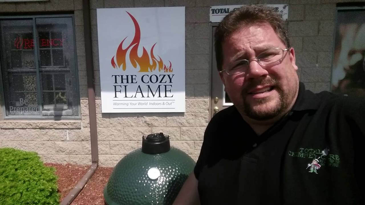 schedule a private demo of the big green egg in milford ct youtube