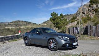 Тест-драйв самого доступного родстера Mercedes-Benz - SLC