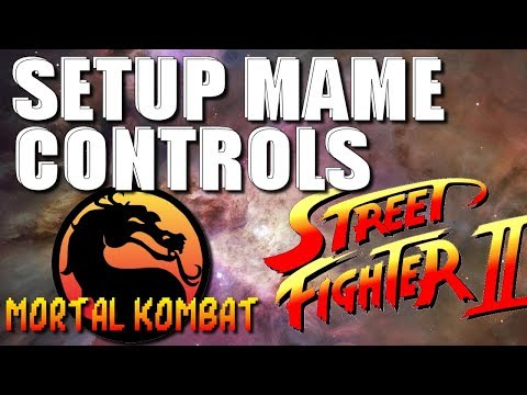 How To Setup Arcade1Up MAME Controls for Mortal Kombat and Street