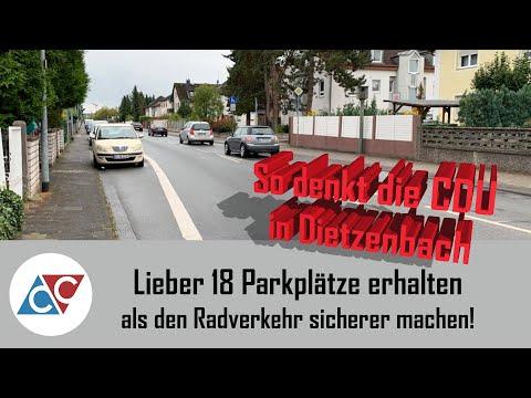 Lieber 18 Parkplätze Erhalten, Als Den Radverkehr Sicherer Zu Machen.